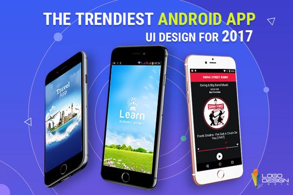 Trendiest Android app UI design