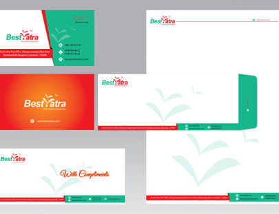 Tourist Company Corporate Identity