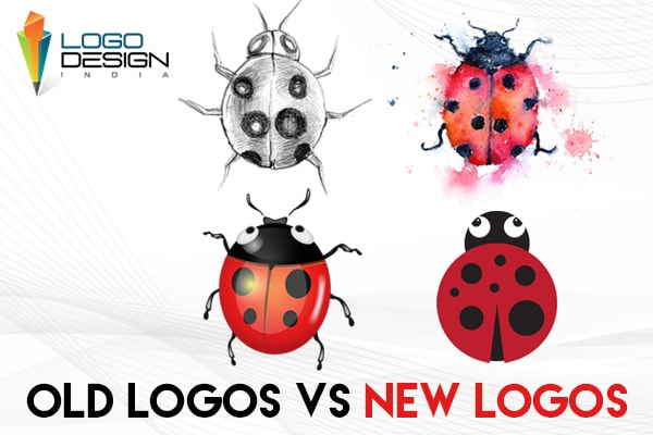 Logos In The Early Stages VS Logos In The Present