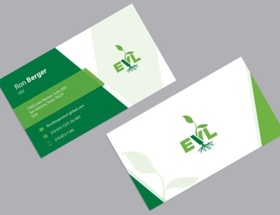 Bio-Organic Firm Business Card