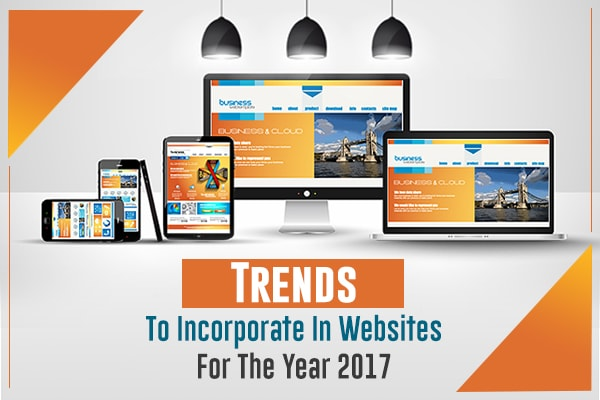 Trends Incorporate Websites Year 2017
